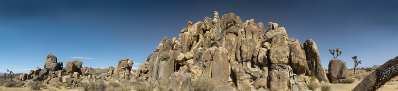 Hoodoos at Joshua Tree National Park