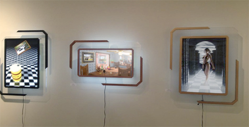 3D Works at Sandra Lee Gallery